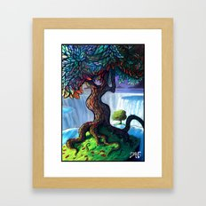 Edge Framed Art Print