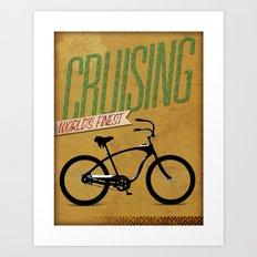 Cruising Art Print