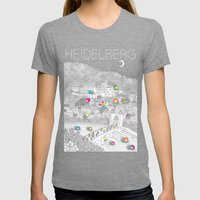Locals Only - Heidelberg, Germany Womens Fitted Tee Tri-Grey SMALL
