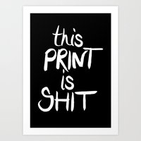 This is... Art Print