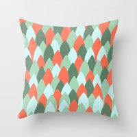 Pop Ups 3 Throw Pillow