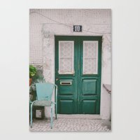 Welcome To My Home Canvas Print