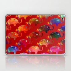 Colorful Elephants Laptop & iPad Skin