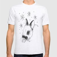 Snow Bunny Mens Fitted Tee Ash Grey SMALL
