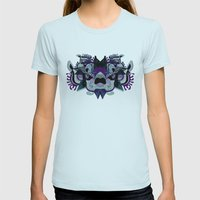 ILLUSTRATED DREAMS (CAN … Womens Fitted Tee Light Blue SMALL
