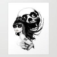 ✖ ソウルメイト (… Art Print