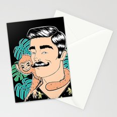 Johnny in the Jungle Stationery Cards