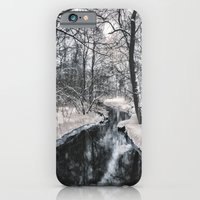 Almost frozen (3\4-BW, HDR) iPhone 6 Slim Case