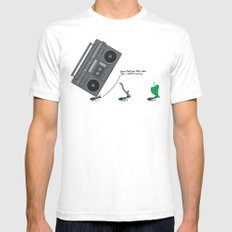dunno 'bout you other ants, but I came to party! White Mens Fitted Tee SMALL