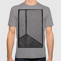 corner stall Mens Fitted Tee Athletic Grey SMALL