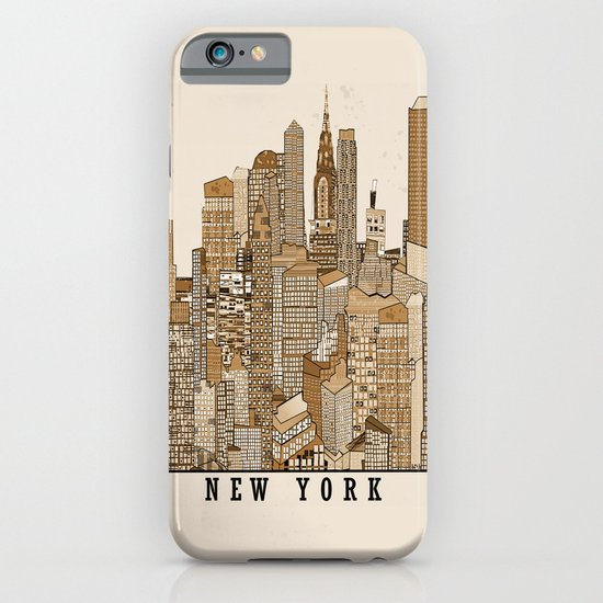 new york vintage (option) iPhone & iPod Case