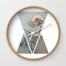 Evolution of a Mermaid Wall Clock