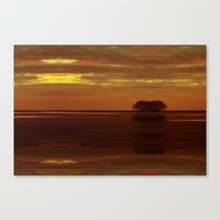 Be The Island, And Find … Canvas Print