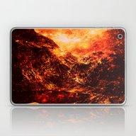 Galaxy Mountains Laptop & iPad Skin