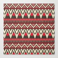 Tribal New World  Canvas Print