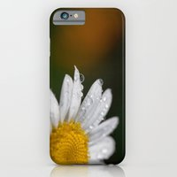 Raindrops and Daisy iPhone 6 Slim Case