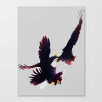 Fighting Falcon Canvas Print