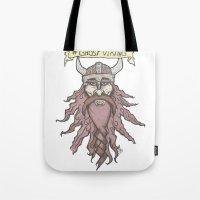 #ghostviking Tote Bag