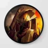 Epic Halo Spartan Wall Clock