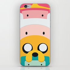 Adventure Time Totem iPhone & iPod Skin
