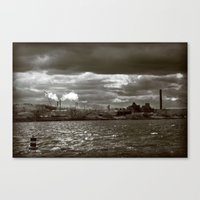 Lost Industry Canvas Print