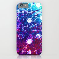 iPhone & iPod Case featuring honeycomb effect by seb mcnulty
