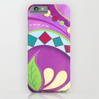 iPhone & iPod Case featuring Purple Tango by Junoon Designs