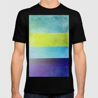 Color Joy II Mens Fitted Tee Black SMALL