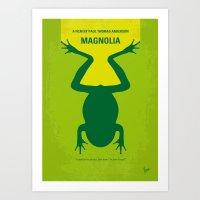 No159 My MAGNOLIA Minima… Art Print