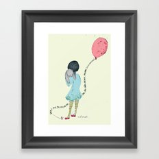 When I Saw You I Fell In Love 2 Framed Art Print