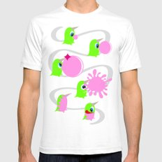 Bubol bubble gum Mens Fitted Tee White SMALL