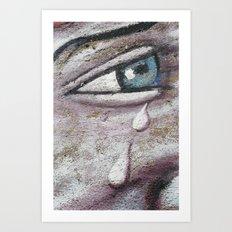 Tears Art Print