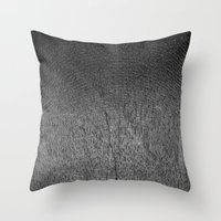 Wood v3 Throw Pillow