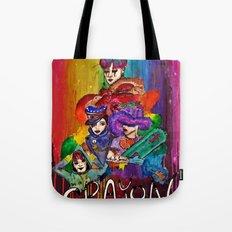 G-Dragon Crayon Tote Bag