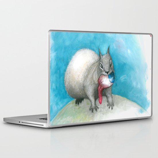 Are you gonna watch me eat this or...? Laptop & iPad Skin