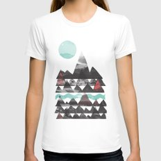 Ascend... Womens Fitted Tee White SMALL