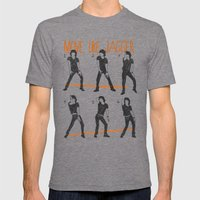 Move Like Jagger (MOVE L… Mens Fitted Tee Tri-Grey SMALL