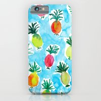 iPhone & iPod Case featuring Pineapples by Barbarian | Barbra Ignatiev