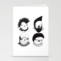 Busts 2° Part Stationery Cards
