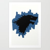 Winter Is Coming - Game … Art Print