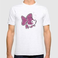 Moor Goldfish Mens Fitted Tee Ash Grey SMALL