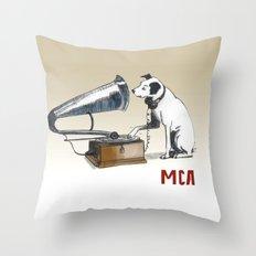 ANALOG zine Throw Pillow