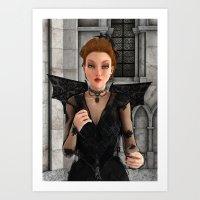 Beautiful Witch Art Print