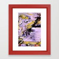 Throw Framed Art Print