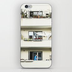 Looking at the neighbor. iPhone & iPod Skin