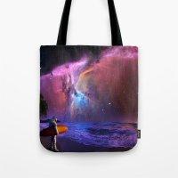 Space Surfer Tote Bag