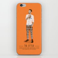 The Otter - A Poster Gui… iPhone & iPod Skin