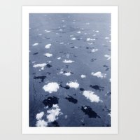 Clouds Over The Australi… Art Print