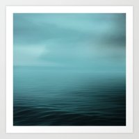 Calm Sea Art Print