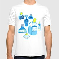 Fragrance Mens Fitted Tee White SMALL